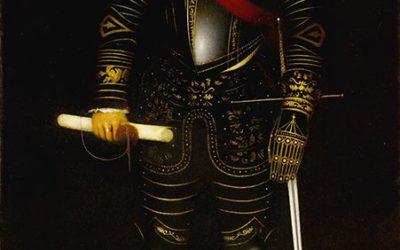РАДЗИВИЛЛ ЧЕРНЫЙ  парадный портрет  100 х 180  х.м.